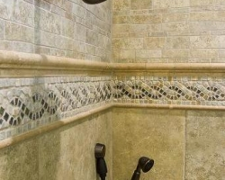 Craftsman shower and tile