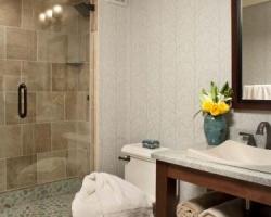 Craftsman bathroom and shower