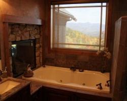 Bath tub view