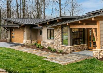 Living Stone Design+Build Hawks Nest Front Door