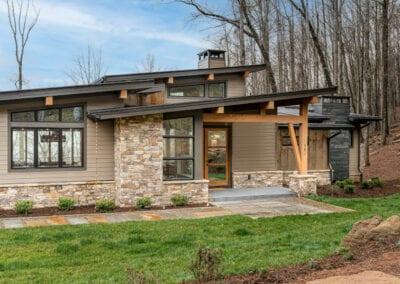 Living Stone Design+Build Hawks Nest Exterior