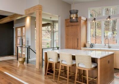 Living Stone Design+Build Hawks Nest Bar Stools