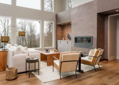 Living Stone Design+Build Hawks Nest Formal Living Room