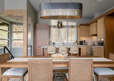 Living Stone Design+Build Hawks Nest Kitchen and Dining