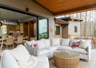 Living Stone Design+Build Hawks Nest Sliding Doors
