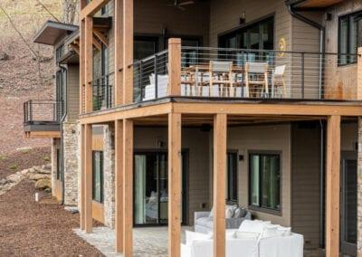 Living Stone Design+Build Hawks Nest Upper and Lower Deck