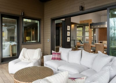 Living Stone Design+Build Hawks Nest Deck Decor