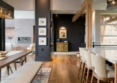 Living Stone Design+Build Hawks Nest Dining Area
