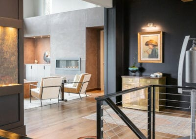 Living Stone Design+Build Hawks Nest Stairwell