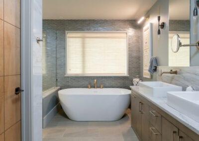 Living Stone Design+Build Hawks Nest Free Standing Tub