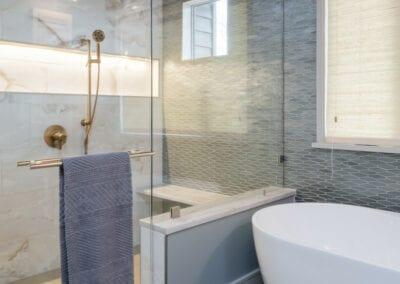 Living Stone Design+Build Hawks Nest Shower