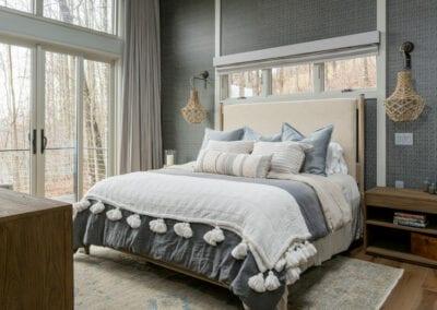 Living Stone Design+Build Hawks Nest Bedroom Balcony