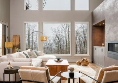 Living Stone Design+Build Hawks Nest Sitting Room