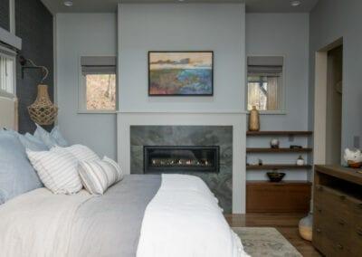 Living Stone Design+Build Hawks Nest Rug and Bedding