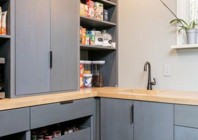 Living Stone Design+Build Hawks Nest Pantry