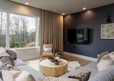 Living Stone Design+Build Hawks Nest TV Settup