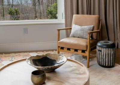 Living Stone Design+Build Hawks Nest Living Room View