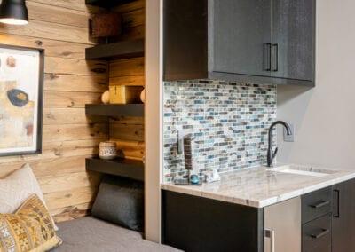 Living Stone Design+Build Hawks Nest Mini Fridge