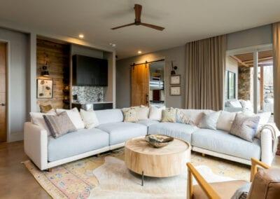 Living Stone Design+Build Hawks Nest Living Area