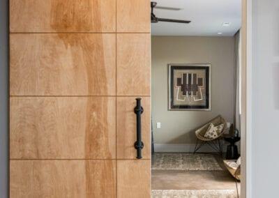 Living Stone Design+Build Hawks Nest Barn Door