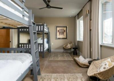 Living Stone Design+Build Hawks Nest bedroom decor