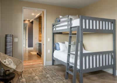 Living Stone Design+Build Hawks Nest Second Bedroom