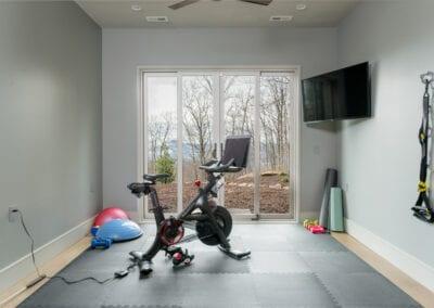 Living Stone Design+Build Hawks Nest Exercise Room