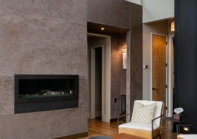 Living Stone Design+Build Hawks Nest Fireplace