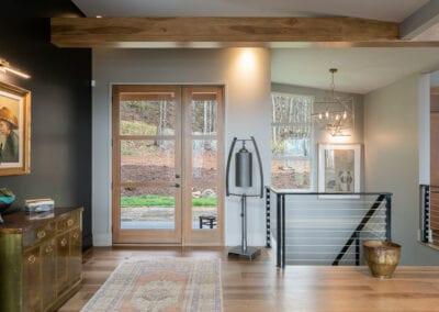 Living Stone Design+Build Hawks Nest Entryway