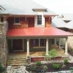 Exterior Craftsman Home, Timber Park, Black Mountain, NC