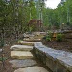 Exterior renovation, landscaping Lake Lure