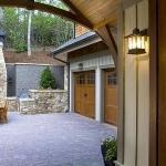 Exterior patio, garage, The Settings of Black Mountain