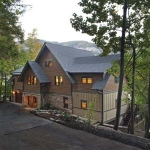 Exterior renovation, Lake Lure