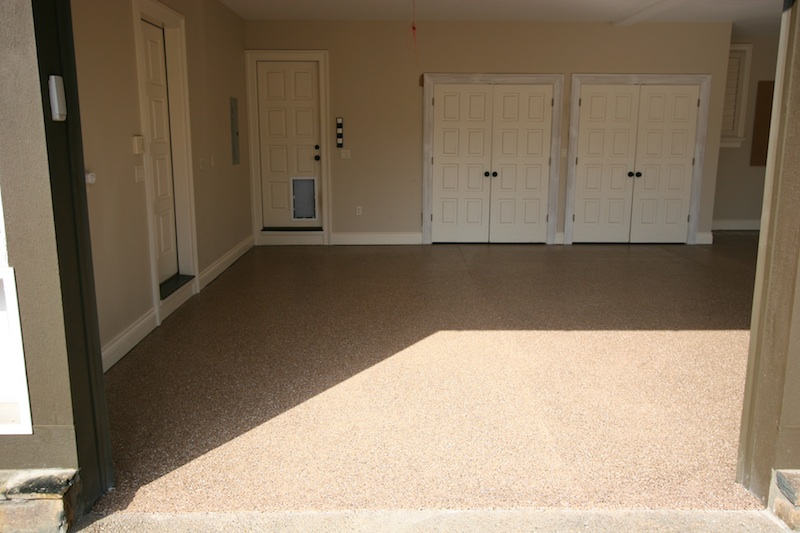 Local Contractor K Wall Provides Custom Garage Floor Coatings