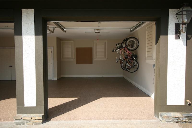 Local Contractor K Wall Provides Custom Garage Floor