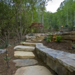 Black Mountain Craftsman stone path