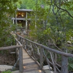Black Mountain Craftsman outdoor bridge