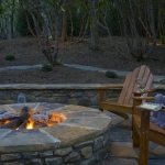 Black Mountain Craftsman outdoor firepit