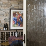 Black Mountain Craftsman wine cellar