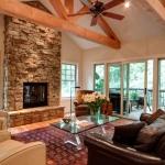 Fairview Craftsman living room
