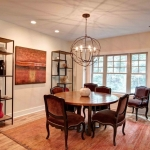 Fairview Craftsman dining room