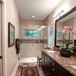 Fairview Craftsman bathroom