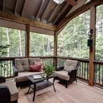 Fairview Craftsman screen porch