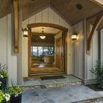 Black Mountain Craftsman front door