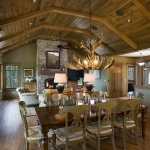 Black Mountain Craftsman dining room