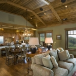 Black Mountain Craftsman great room