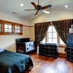 Craftsman style bedroom, The Village of Cheshire