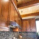 North Asheville Timberpeg kitchen