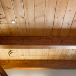 North Asheville Timberpeg interior