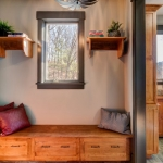 North Asheville Timberpeg mud room